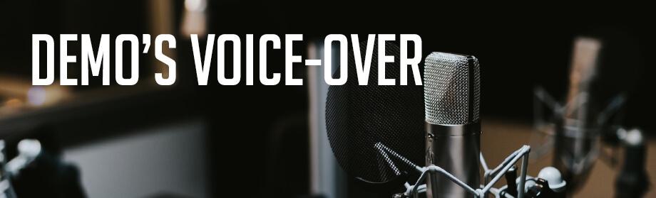 Demo's voice-over